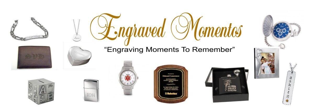 Engraved Momentos