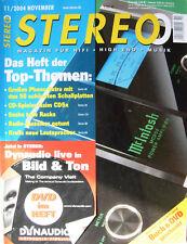Stereo 11/04 Atoll PR200 + AM100, Naim CD 5 x, Piega XS4, Vroemen La Nobila Sub.