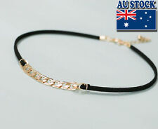 Wholesale  18K Gold Plated Twist Chain Choker Necklace Jewelry