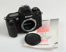 NIKON N80 BODY ONLY W/BODY CAP AND OWNERS MANUAL