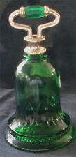 Green Glass Avon Collectible Decanter½ Full Roses Roses Great Vintage Avon