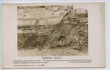 (w13a75-100) Real Photo of Normal Fault, Mossend, Unused VG+