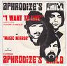♫ Aphrodite's Child ♫  I want to live ♫ Mercury 1969 ♫ vinyle 45 tr .Vangelis