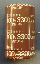 Nippon Chemi-con 3.300uF/100V KMH
