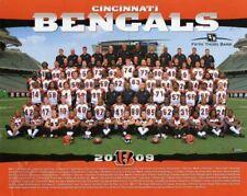 2009 CINCINNATI BENGALS NFL FOOTBALL 8X10 TEAM PHOTO