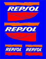 Repsol parachoques calcomanías Sticker Set