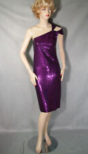 $1295 NWT ST JOHN ALL OVER PAILLETTES KNIT DRESS 12 SALE
