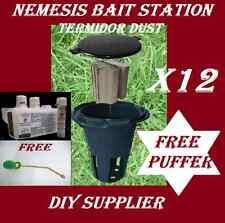 12 Nemesis Bait Station Termidor Dust Powder Gift Puffer