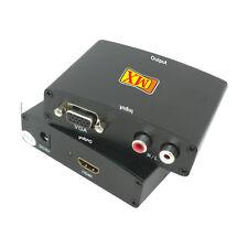 MX Vga + Audio To Hdmi Convertor (Converts Vga Signals To Hdmi Signals)-MX 3360