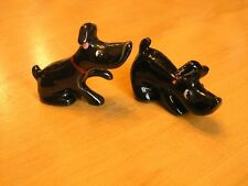 Rarest Cutest Vintage Scotty Scottie Scottish Terrier Dogs Salt Pepper Shakers