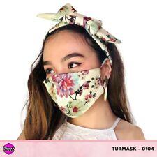 Rhezz Turmask Set (Turban & Facemask) TM#0104 Wholesale