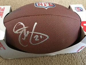 Signed Eric Metcalf Cleveland Browns Autographed Replica Duke Football Auto