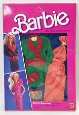 1984 BARBIE DAY TO NIGHT FASHIONS BUSINESS EXECUTIVE 9083 NRFB