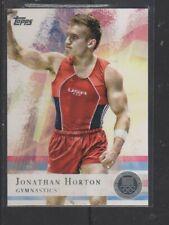 JONATHAN HORTON - 2012 OLYMPICS - SILVER MEDAL  TOPPS #80