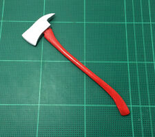 1/6 Scale Custom Fireman Axe Red Hatchet Handmade Firefighter Action Figure