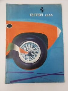 Vintage Original Ferrari 1955 Yearbook