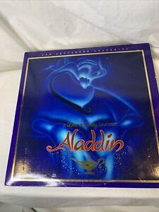 Walt Disney's Classic Aladdin CAV Letterbox Laserdisc 1662CS Laser Disc