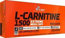 2 Packungen L-Carnitine 1500 Extreme Mega Caps Olimp (240 Kapseln;13,55EUR/100g)