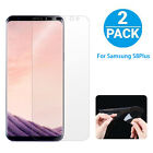 2PCS Full Cover Screen Saver Protector Curved Shield Film Samsung Galaxy S8 Plus