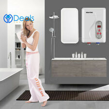 Instant Hot Water Heater Electric Tankless On Demand House Shower Sink 7000W
