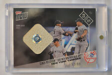 2017 Topps Now Game Used Base Relic #645A New York Yankees Clinch # to 99