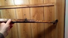 vintage rare N.S.  logger's timber scale imperial & metric sliding rods 8' total