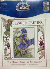 New Old Stock. The chicory Fairy, Counted Cross Stitch 5x7