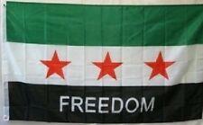 Syria Freedom Flag 3 Stars 3x5 ft Republic Revolution Protest Free Syrian Army
