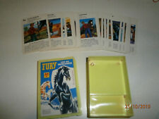 TV Quartett - Kartenspiel FURY und die Mustangs Bielefelder Spielkarten Nr. 0150