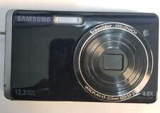 Samsung DualView TL220 12.2MP Digital Camera - Silver/Black