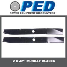 "42"" cut Murray ride on mower blades"