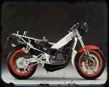 Aprilia Af1 125 Sintesi Replica 1 A4 Metal Sign Motorbike Vintage Aged