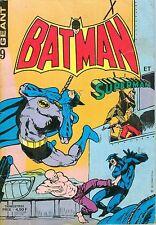 Batman and Superman Giant #9 - Sagédition, June/July/August 1978, French edition