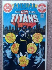 The New Teen TITANS Annual #2 DC Comics (1983) First Appearance Of Vigilante NM-
