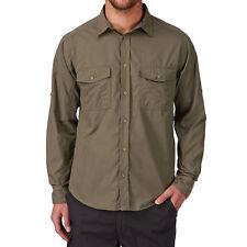 Craghoppers Men's Kiwi Long Sleeve Shirt XXL Brown