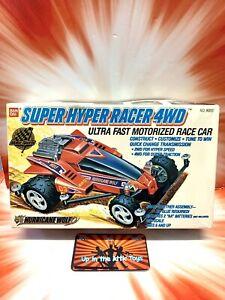 VINTAGE 1989 BAN DAI SUPER HYPER RACER ~ HURRICANE WOLF ~ MOTORIZED MODEL KIT
