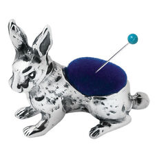 RABBIT PIN CUSHION STERLING SILVER 925 HALLMARKED NEW FROM ARI D NORMAN