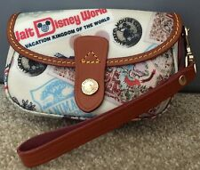 Disney Dooney & Bourke WDW 40th Anniversary Snap Wristlet
