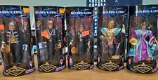 Babylon 5 Limited Edition Collector's Series Action Figures Lot Fully Poseable