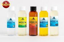 30% OFF LOT by H&B Oils Center ORGANIC JOJOBA COCONUT ARGAN MUSTARD CASTOR 10 OZ