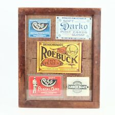 :Wooden 11x14 Contact Print Printer Easel - Displayed w/ Vintage Advertisements