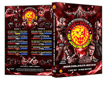 "Official NJPW - ""An Introduction To New Japan Pro Wrestling"" 2 Disc DVD Set"