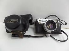 Yashica Electro 35 Yashinon-DX 35mm Camera 1:1.7 f=45mm Copal Elec Case Vtg