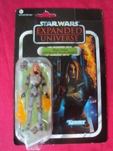 STAR WARS VINTAGE COLLECTION SHAE VISLA EXPANDED UNIVERSE VC101 2012 CARD HASBRO