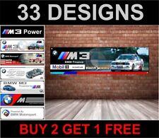 BMW e30 M3 Mobil 1 RACING banner per Officina, Garage, ufficio, M Sport, evoluzione