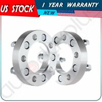 "2X 1"" Wheel Spacers adapter 5 Lugs 5x4.75"" 5x120.7mm fits  Chevy Corvette Camaro"