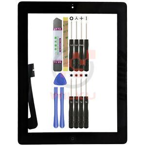 Digitizer für Apple iPad4 Touchscreen A1458 1459 1460 Scheibe Display Schwarz HB