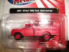 Classic Metal Works HO Scale '60 Ford Utility Truck Monte Carlo Red  30461 BTTG