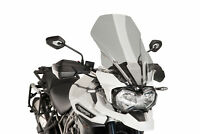 TRIUMPH TIGER EXPLORER 1200 2016 > PUIG SCREEN SMOKE TOURING WINDSCREEN