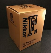 Nikon PC Micro-Nikkor 85mm f/2.8D Camera Lens - EMPTY BOX ONLY (NO LENS)